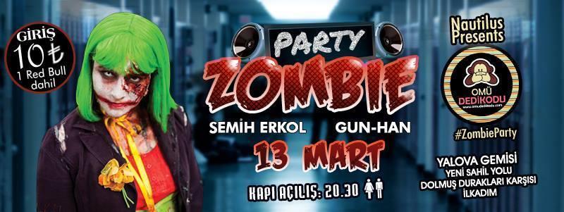 Omü Dedikodu Zombie Party