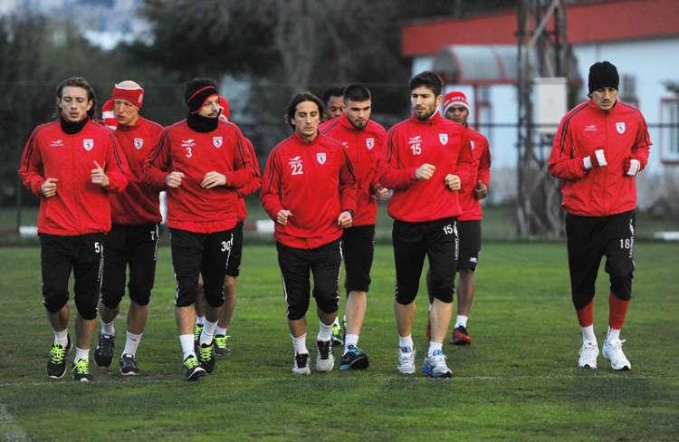 Samsunspor- Antalyaspor Maçı