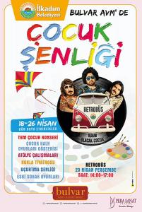 23 Nisan Samsun'da Dolu Dolu Geçecek