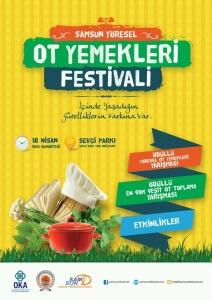 Samsun Yöresel Ot Yemekleri Festivali
