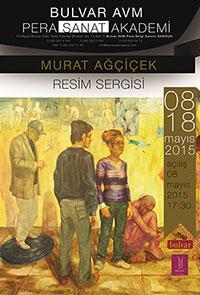 Murat Ağçiçek Resim Sergisi Bulvar AVM'de