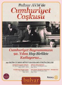Bulvar AVM'de Cumhuriyet Coşkusu