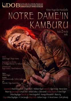 notre-da-samsun notre-da-samsun  - notre da samsun - 'Notre Dame'ın Kamburu' Mart ayında Samsun'da