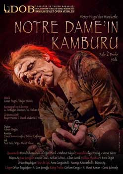 'Notre Dame'ın Kamburu' Yeniden Sahnede