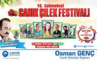 16. Geleneksel Canik Çilek Festivali