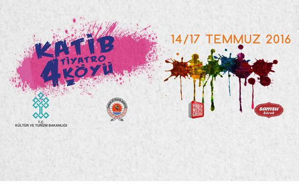 KATİB 4. Tiyatro Köyü Samsun'da