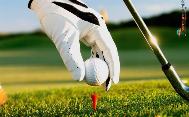 """Samsun'da Golf Turnuvası """"Federasyon Kupası"""" ile başlıyor"""