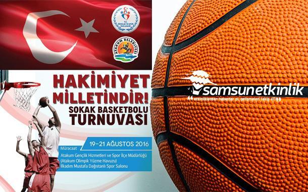 3X3 Hakimiyet Milletindir Sokak Basketbolu Turnuvası