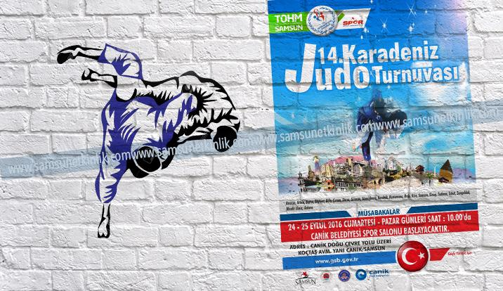 14.Karadeniz Judo Turnuvası Samsun'da