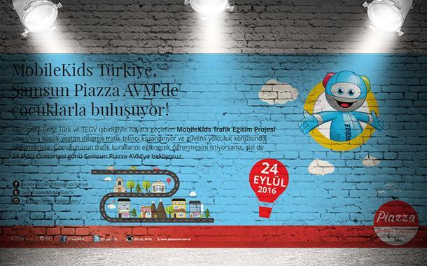 MobileKids Türkiye, Samsun Piazza AVM'de Çocuklarla Buluşuyor!