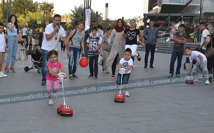 """""""Çocuk Oyunları Festivali"""" doyasıya yaşandı"""