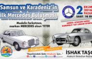 Mercedes'ler Atakum'da buluşuyor