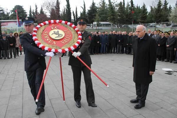 - 4 111 1 - Samsun'da Şehitlerimiz, Hüzün Ve Gururla Anıldı