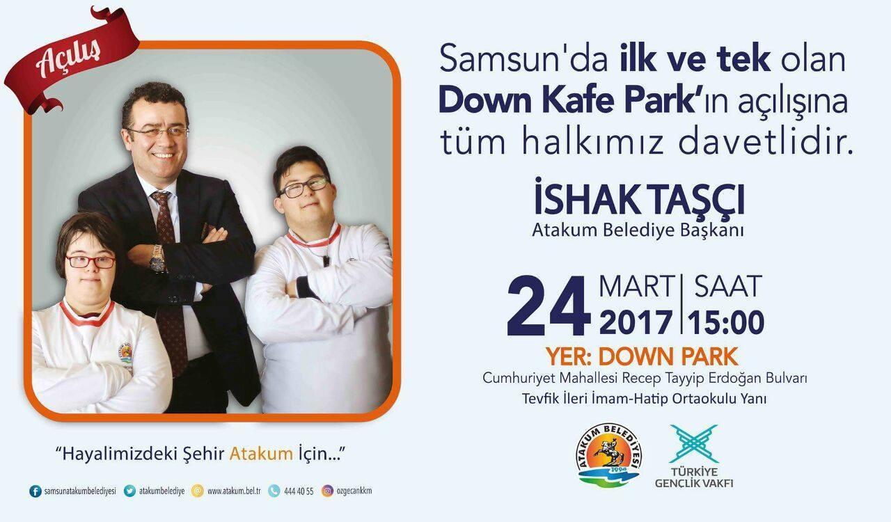 - down kafe park atakum acilis - Down Kafe Park Atakum'da açılıyor
