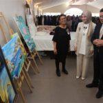 Kadınlar, el emeklerini sergiledi Atakum Belediyesi Kadin El emegi sergisi 10 150x150