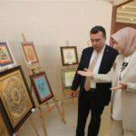 Kadınlar, el emeklerini sergiledi Atakum Belediyesi Kadin El emegi sergisi 6 150x150