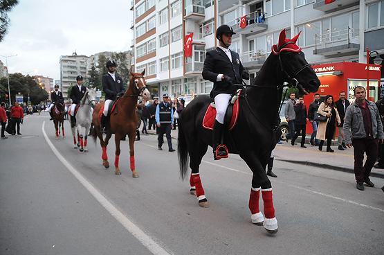 Samsun'da Fener Alayı Yürüyüşü gerçekleşti samsun fener alayi 2017 3