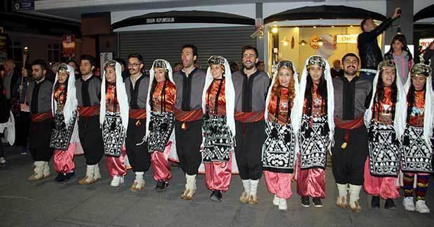 Samsun'da Fener Alayı Yürüyüşü gerçekleşti samsun fener alayi 2017