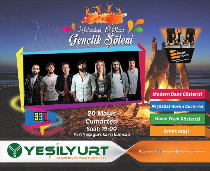 Yeşilyurt AVM 19 Mayıs Gençlik Şöleni