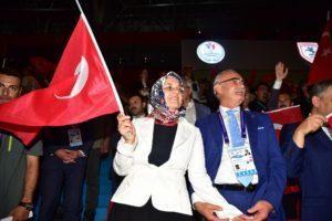 - Deaflympics 2017 Samsun yusuf ziya yilmaz konusma 300x200 - Deaflympics Samsun 2017 muhteşem açılış töreniyle başladı