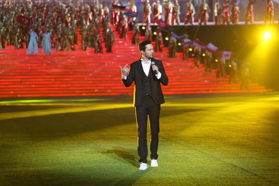 Deaflympics Samsun 2017 muhteşem açılış töreniyle başladı murat boz samsun konseri