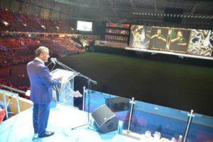 Deaflympics Samsun 2017 muhteşem açılış töreniyle başladı samsun valisi osman kaymak 300x200