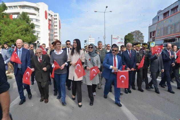 - samsun 29 ekim cumhuriyet yuruyusu 1 630x420 - Samsunlular, Cumhuriyet Yürüyüşüne yoğun ilgi gösterdi