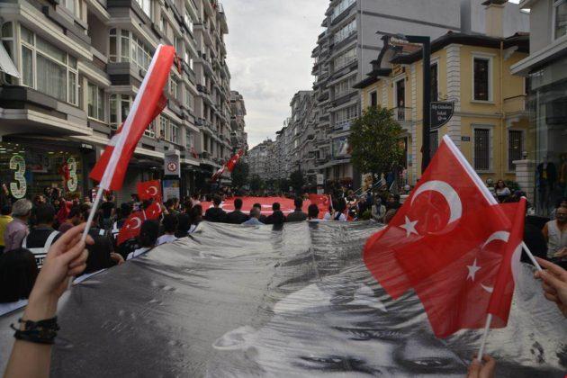 - samsun 29 ekim cumhuriyet yuruyusu 6 630x420 - Samsunlular, Cumhuriyet Yürüyüşüne yoğun ilgi gösterdi