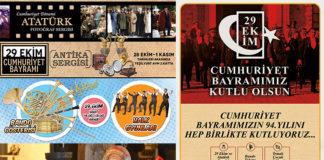 Cumhuriyetin 94. Yılını renkli etkinliklerle kutlayacak