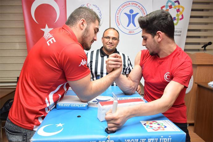 - ilkadim belediyesi bilek guresi turnuvasi - İlkadım'da gençler Bilek Güreşi Turnuvası'nda ter dökecek