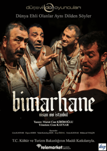 "- bimarhane samsun tiyatro 214x300 - ""Bimarhane"" 5 Ocak'ta Lovelet Sahnesi'nde"