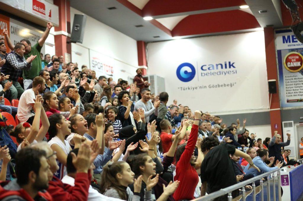 - canik belediyespor taraftar 1024x682 - Canik Belediyespor – Fenerbahçe 10.Hafta