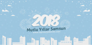 Samsun 2018 Yılbaşı