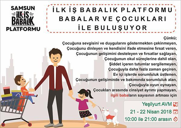 - ilk is babalik platformu babalar ve cocuklari ile bulusuyor - İlk İş Babalık Platformu Babalar ve Çocukları ile buluşuyor