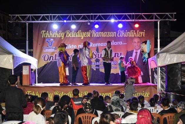 - tekkekoy ramazan sokagi 4 629x420 - Tekkeköy Ramazan Etkinlikleri Devam Ediyor