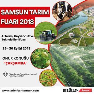 - samsun tarim fuari 2018 - Samsun 4. Tarım Fuarı 2018