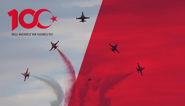 Türk Yıldızları ve SOLOTÜRK Göstersi (19 Mayıs Pazar)