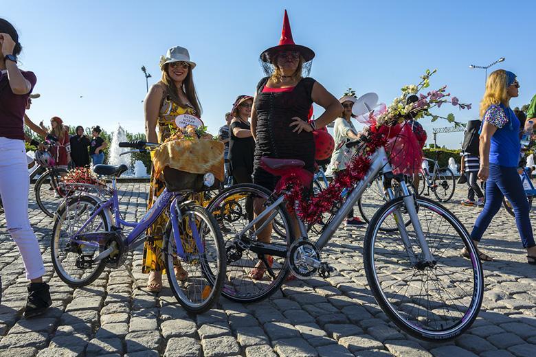 """Çevre İçin Bas Pedala"" bisiklet turu"
