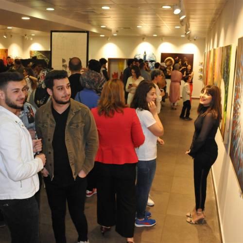 GSF Resim Bölümü Mezuniyet Sergisi Açıldı