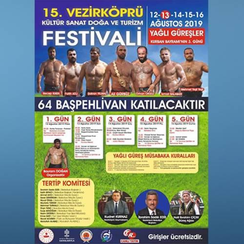 Vezirköprü Kültür Sanat Doğa ve Turizm Festivali 5 gün sürecek