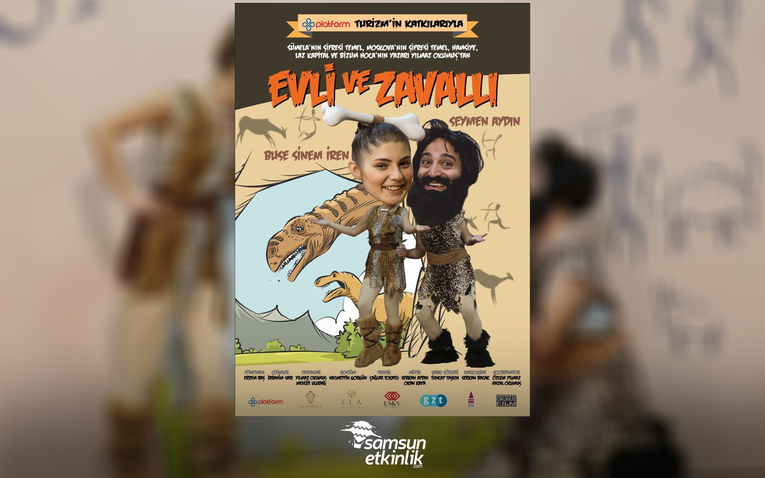 Evli ve Zavallı - Temel ile Fadime Oyunu 17 Ekim'de Samsun'da!