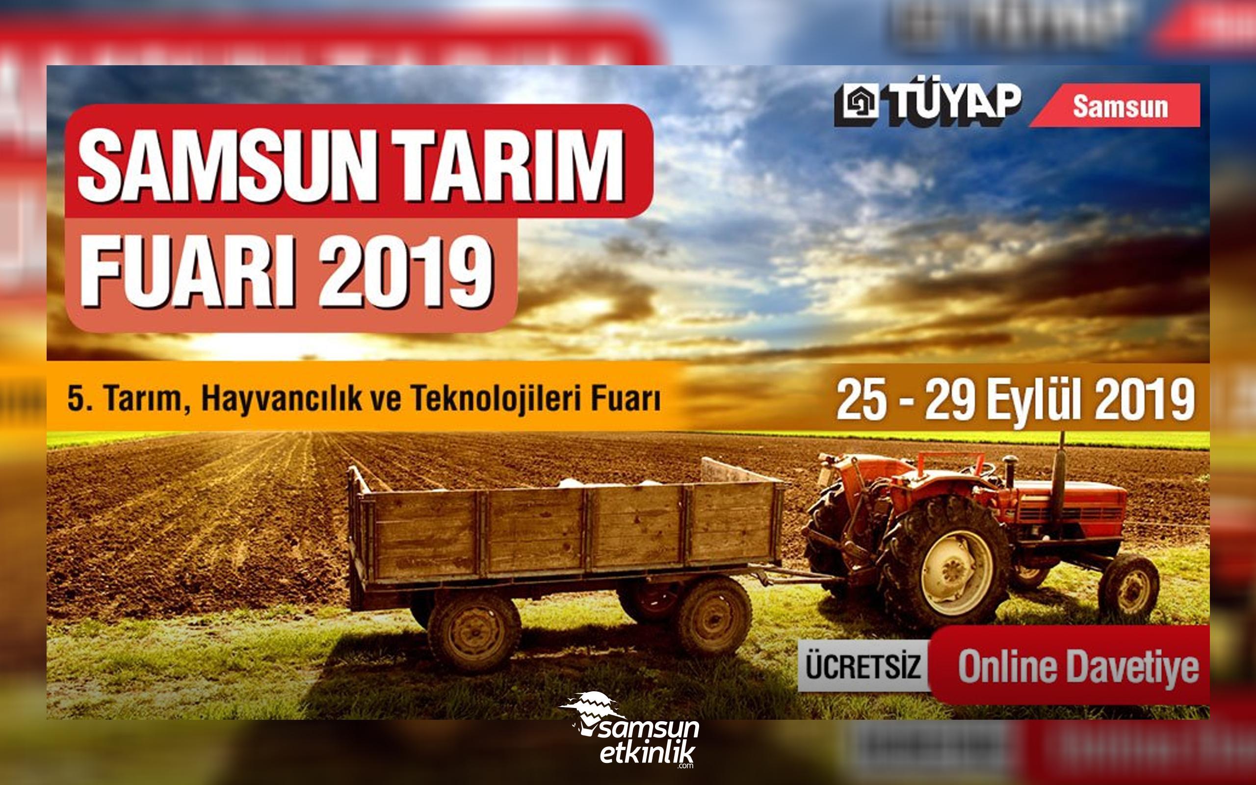 Samsun Tarım Fuarı 2019