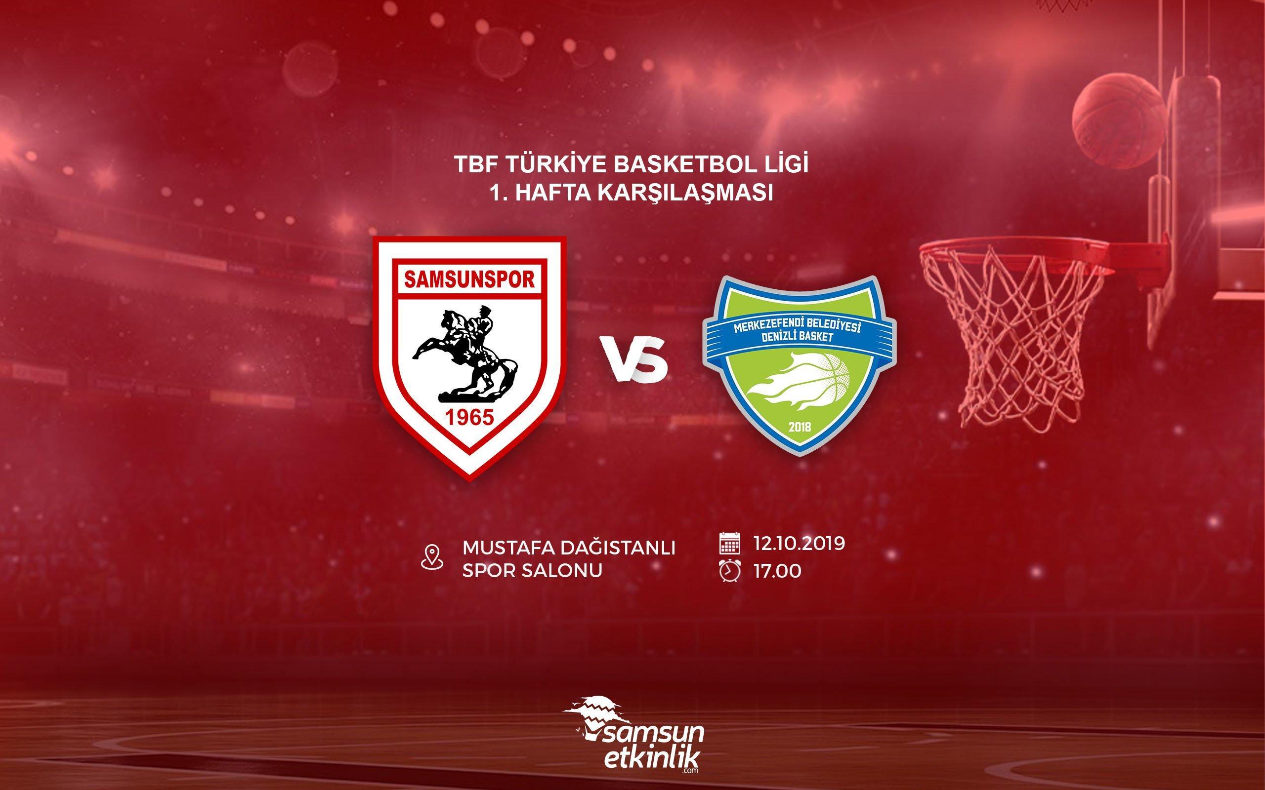 Samsunspor Basketbol - Merkezefendi Belediyesi