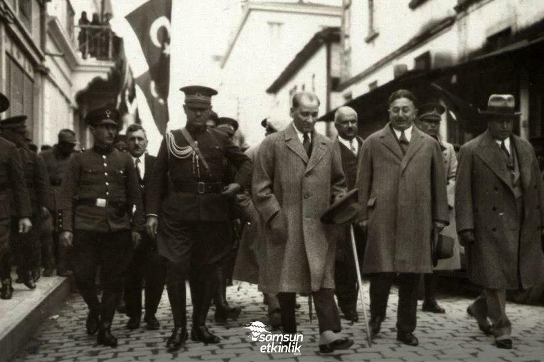 Atatürk'ün Samsun'da Geçirdiği Günler