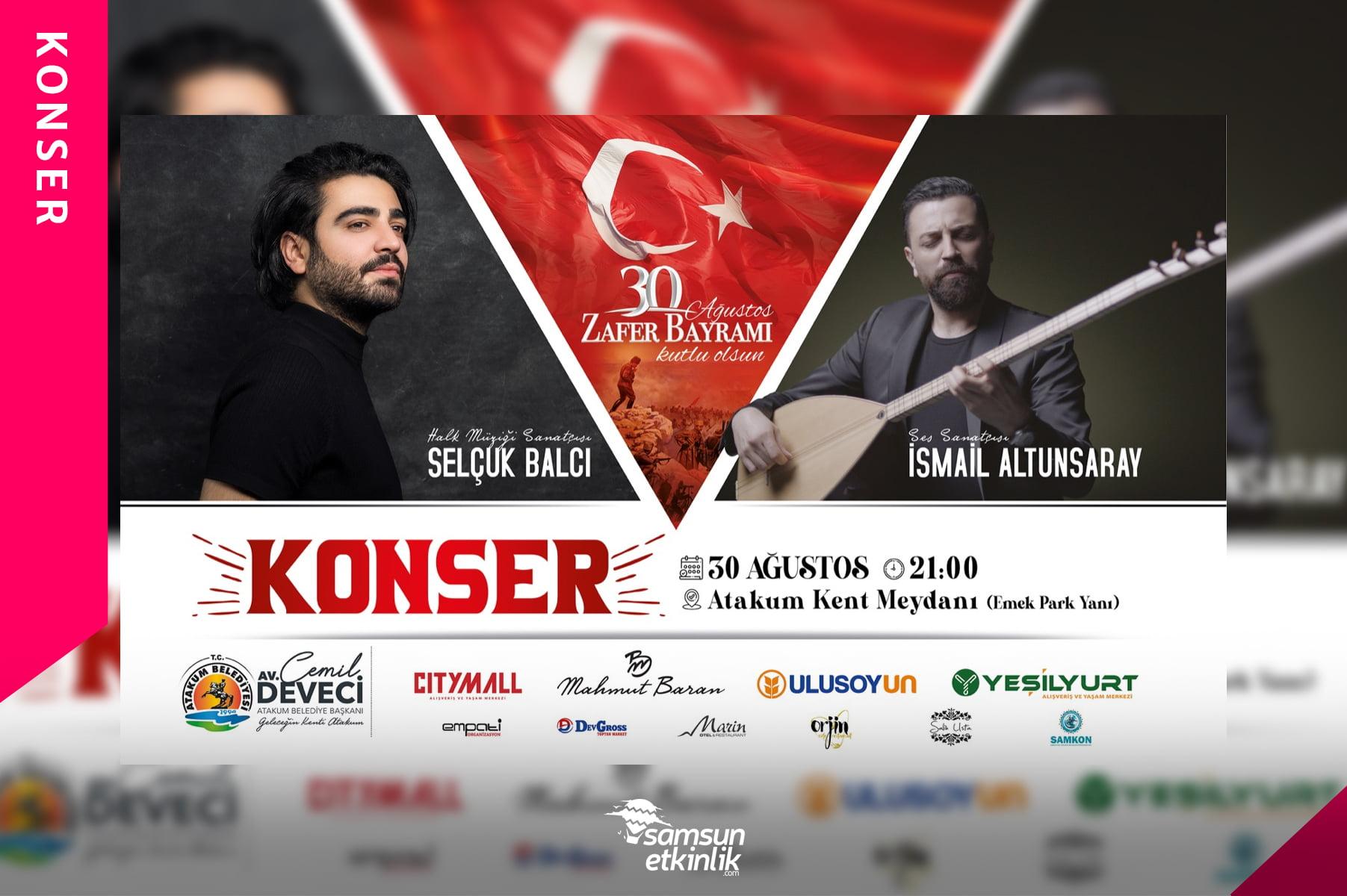 30 Ağustos Atakum Konseri