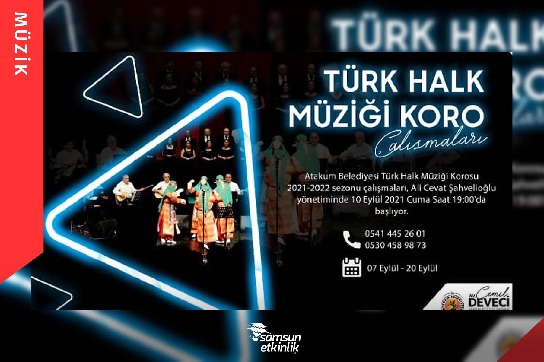 Türk Halk Müziği Koro Çalışmaları